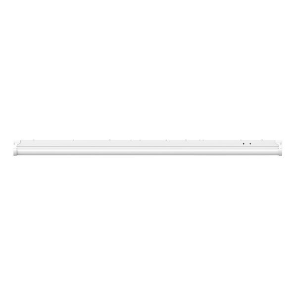 LED batten light fitting side view