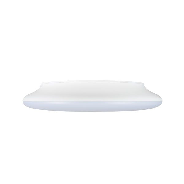 10 inch LED ceiling button light fitting side view