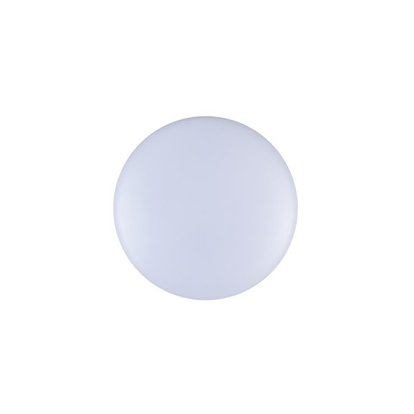 LED ceiling button light fitting front view