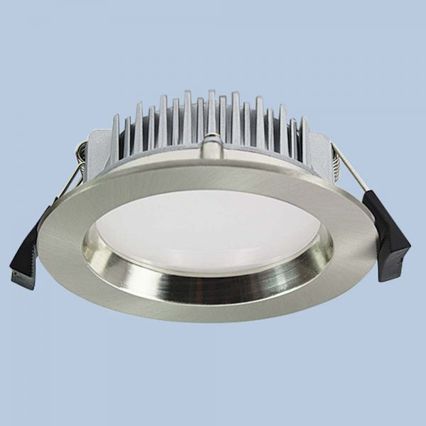 LED Downlight DL401 13 watt Brushed Chrome