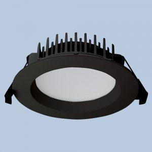 LED Downlight DL401 13 watt Black