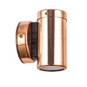 Single direction copper pillar light