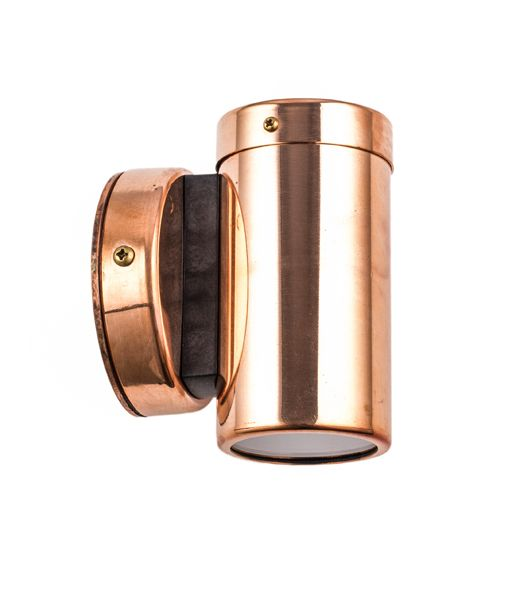 Single direction copper pillar light