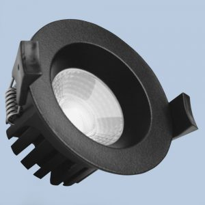 Black LED Downlight DL301A
