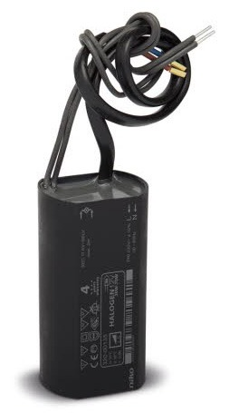 Ereatronic (Niko) exterior lighting transformer.